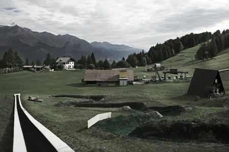 Mostra fotografica Sospensioni, Pian del Frais, Alta Valle Susa, ph. A. La Grotta