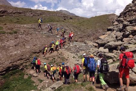 Giroparchi Nature Trail 2016, sulle tracce del Tour du Grand Paradis imparando l'inglese