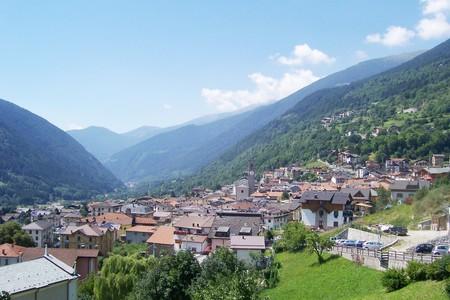 Panorama di Vezza d'Oglio, Val Camonica