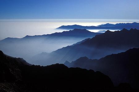 Parco naturale delle Alpi Marittime, Argentera, le quinte della Valle Gesso