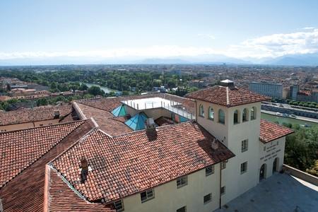La Terrazza panoramica sui tetti del Museo e l'ingresso sul piazzale, 2005
