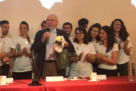 Alberto Magnaghi, standing ovation durante il corso della XXI Conferenza SIU, Firenze 2018