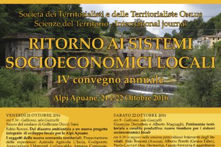Ritorno ai sistemi socioeconomici locali