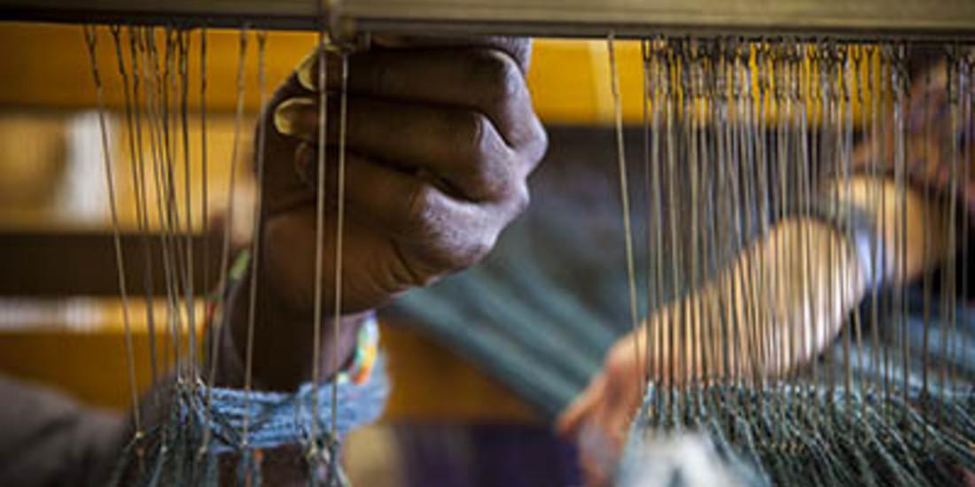 Laboratorio di Tessitura a Pettinengo