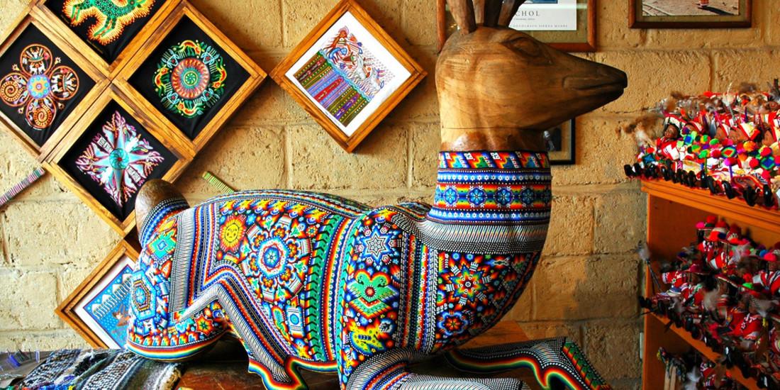 Stato di Jalisco, arte Huichol, Messico
