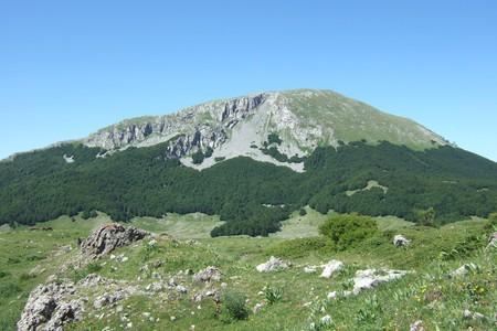 Monte Pollino, 2248 m.