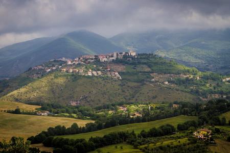 Panorama scenografico di Poggio Nativo, Rieti