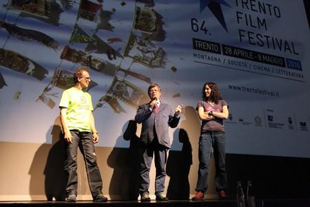 Serata evento con gli alpinisti Simone Moro e Tamara Lunger, insieme al Presidente del Trento Film Festival Roberto De Martin