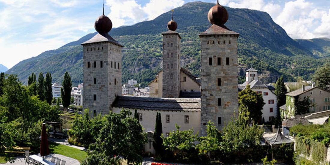 Cantone Vallese, Svizzera, Brig, Castello di Stockalper
