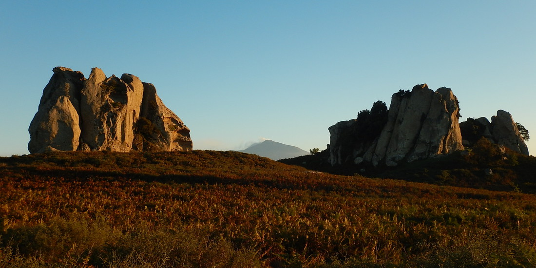 L'Etna dall'Altopiano dell'Argimusco, Sicilia