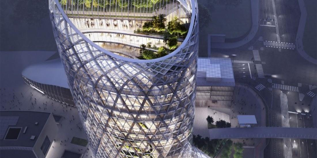 L'arte di Mario Cucinella, Torre Unipol, Milano, edificio di nuova generazione dalla caratteristiche climatiche ed energetiche innovative