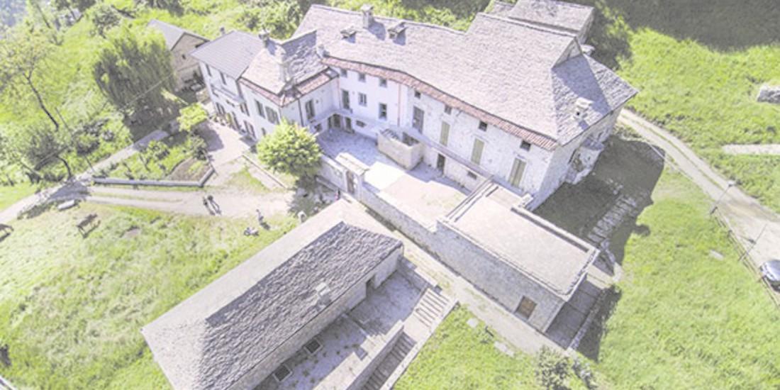 Complesso monumentale di Cà Berizzi - sede della biblioteca Costantino Locatelli e della Bibliosteria