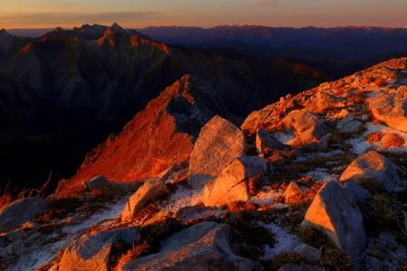 Dalla Vetta della Pania della Croce, Alpi Apuane