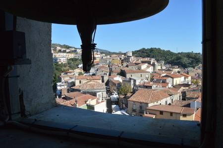 Veduta di Zagarise dalla torre del Campanile della Chiesa Santa Maria Assunta, Zagarise
