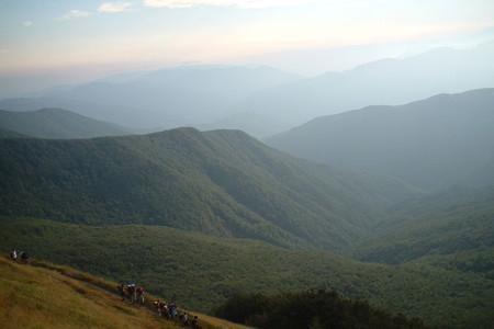 La Montagna Pistoiese, presso il Passo del Cancellino