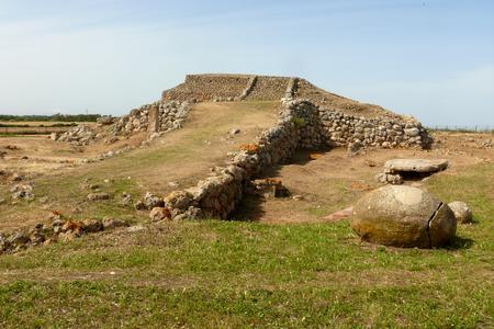 Sassari Altare preistorico di Monte d'Accoddi, Sardegna prenuragica