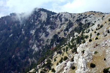 Loricati sul versante sud del Pollino