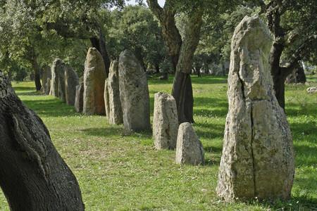 Pranu Muttedu menhir, Sardegna prenuragica