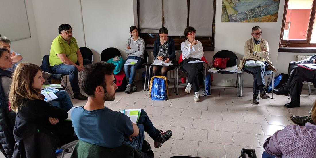 Workshop degli aderenti a Montagne in Rete