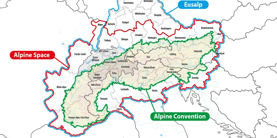 EUSALP - Alpine Space - Alpine Convention