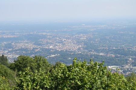 Panorma di Varese dal Campo dei Fiori