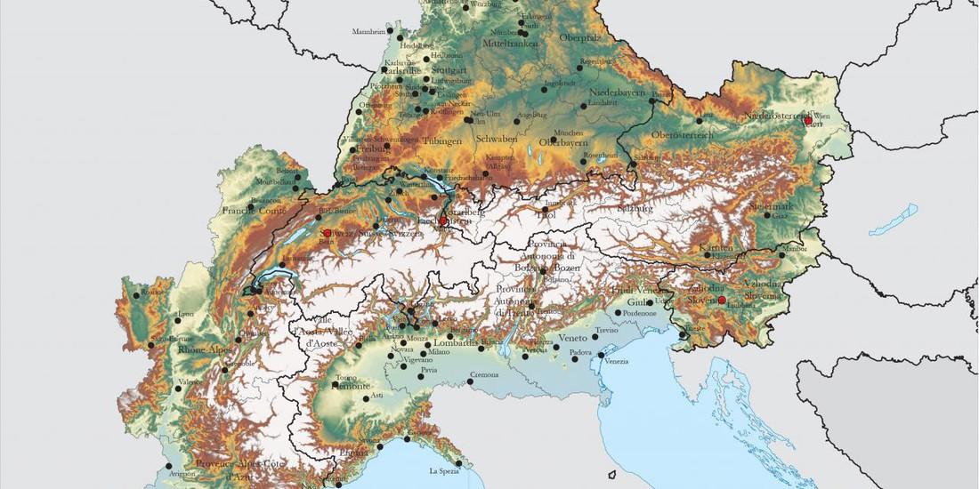 EUSALP Map