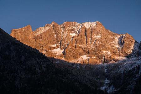 Parco naturale delle Alpi Marittime, Argentera, Marittime montagne