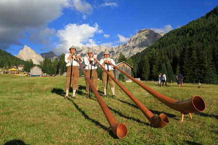 Scorcio sulle Dolomiti, ph. R. Bernard