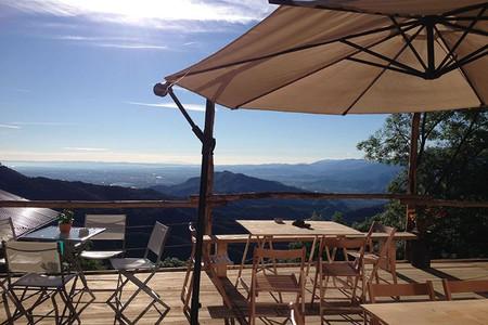 Panorama dal Rifugio Paraloup, a Rittana