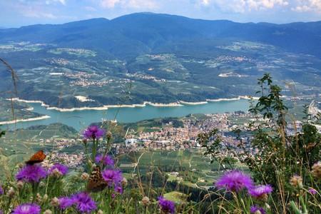 Veduta della Val di Non, Trentino Alto Adige/Südtirol