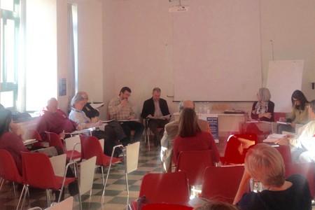 Scuola di Preparazione Sociale Trento - il Presidente della Fondazione Demarchi al momento della chiusura dei lavori