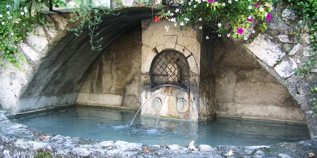 Chambéry, Fontaine des deux Bourneaux
