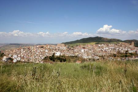 Tricarico, panorama del centro storico