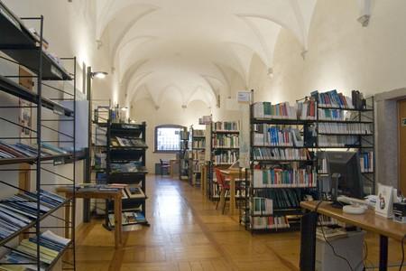 la biblioteca della Fondazione