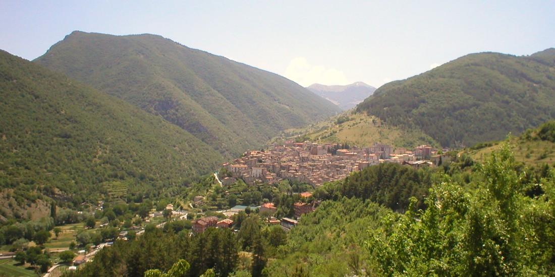Panorama di Scanno, L'Aquila, Abruzzo