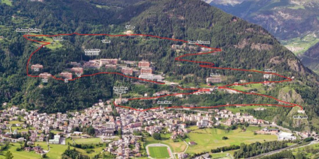 Il martedì del Villaggio, Complesso monumentale del Villaggio Morelli di Sondalo