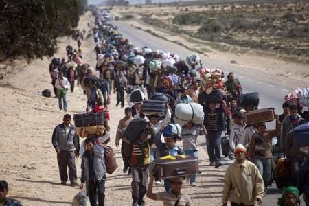 Il lungo cammino dei rifugiati siriani