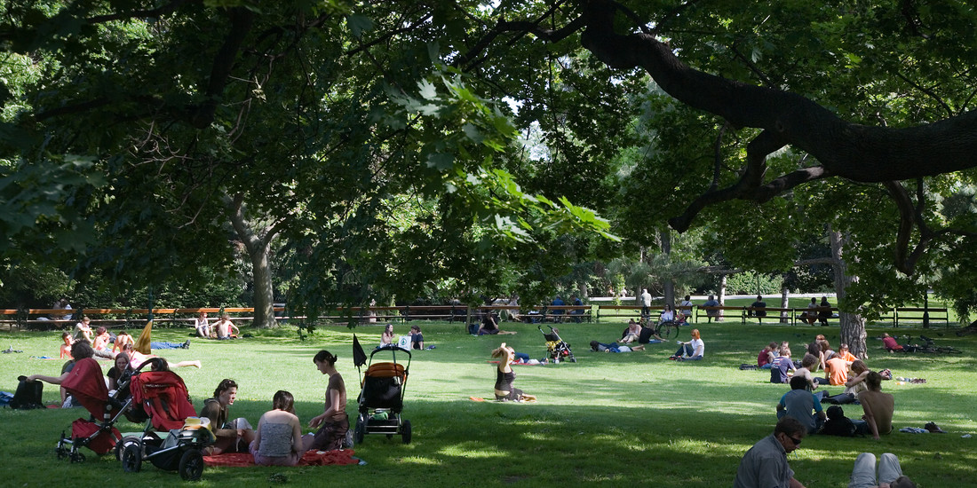 Vienna, relax al parco