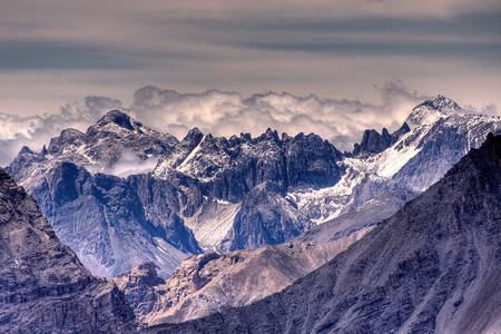 Panorama Sestriere, Alpi Cozie, Piemonte