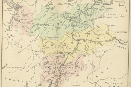 The valleys of Tirol (1874), historicalkat, provincia.tn.it