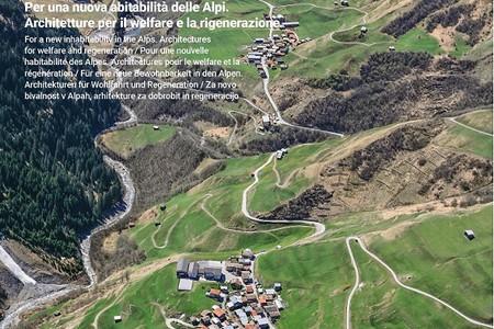 Copertina rivista ArchAlp numero 4. Fonte: comunicato stampa Fondazione Courmayeur Mont Blanc