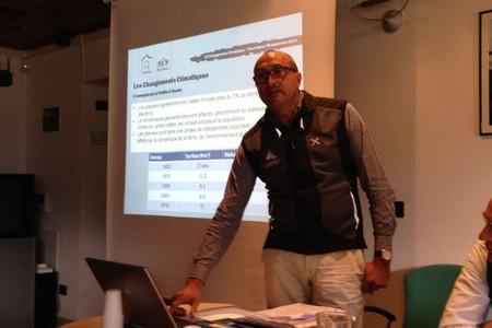 Jean Pierre Fosson, segretario generale della Fondazione Montagna sicura