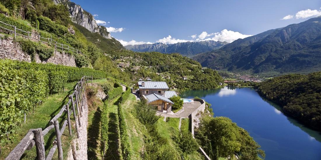 I terrazzamenti del lago Moro, Vigneti in località scraleca, Val Camonica