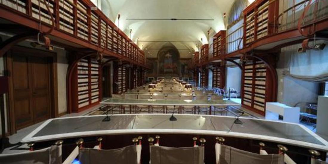 Sala del Refettorio, Biblioteca della Camera dei Deputati, Roma