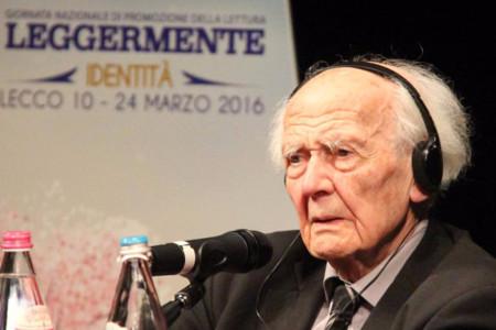 L'intervento del grande sociologo Zygmunt Bauman, in occasione della settima edizione di Leggermente