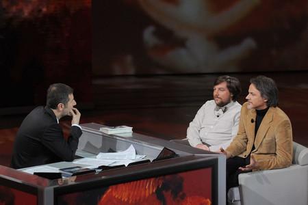 Marco Ferrari e Luca Mercalli ospiti della trasmissione di Fabio Fazio