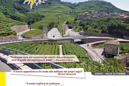 Per la nuova ferrovia Trento-Lavis, Valli di Cembra, Fiemme e Fassa