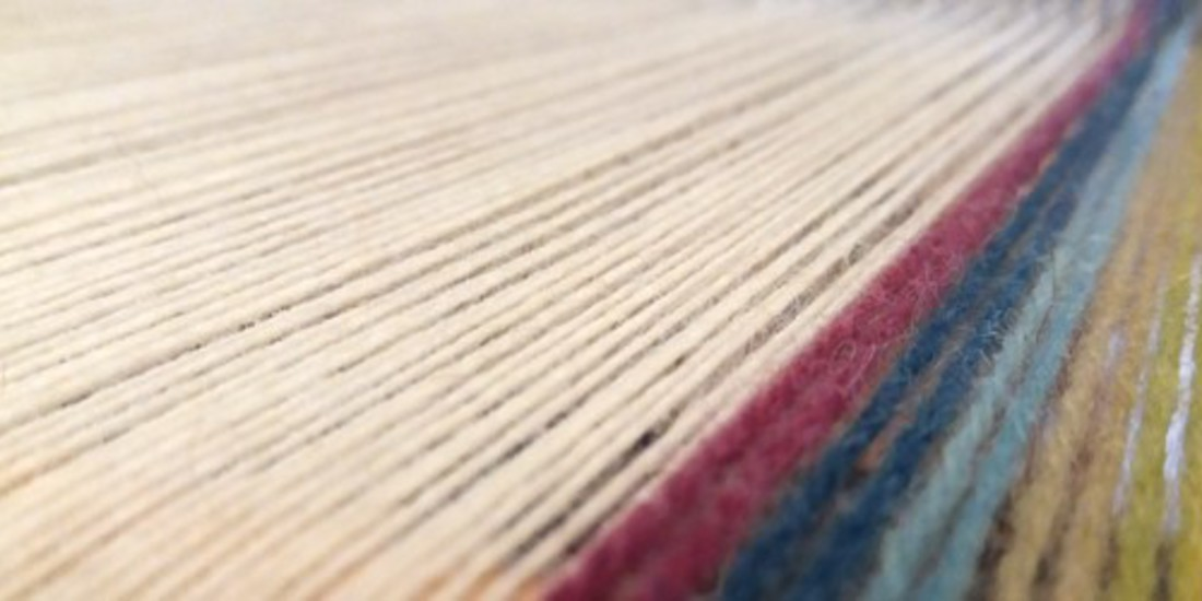 Sciarpa della Pace, 100% lana Sambucana piemontese