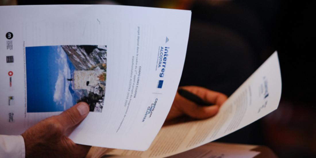 CORPO LINKS CLUSTER, Conference de presse Alcotra-Interreg-2017 @ USMB