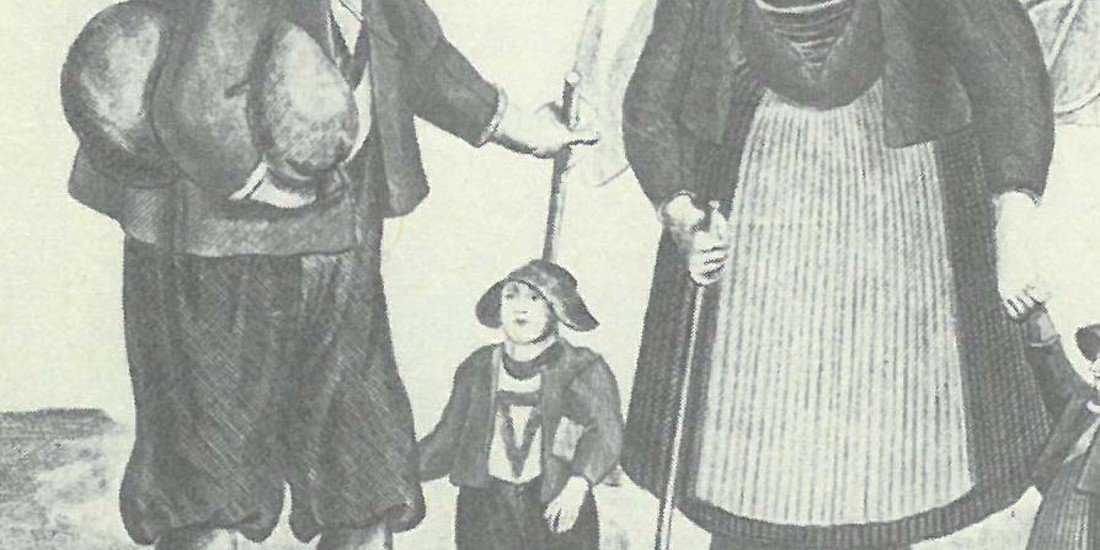Emigranti del 18esimo secolo, Ph. Archivio LabiSALp